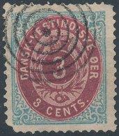 DENMARK West Indies - 1873 No 6 - Denmark (West Indies)