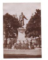 Lyon.  Statue Du Sergent Blandan,Place Sathonay Photo Originale 1900. - Sonstige