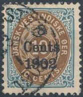 DENMARK West Indies - 1902 No 19 - Danemark (Antilles)