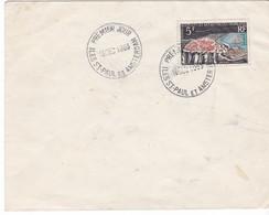 TAAF - Courrier - 1er Jour - Saint Paul Et Amsterdam - 16/12/1963 - Terres Australes Et Antarctiques Françaises (TAAF)
