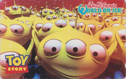 Telecarte Japon / 110-016 - DISNEY ON ICE - TOY STORY -  JAPAN Movie Phonecard - Disney