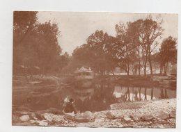 Lyon.  Lone Au Parc De La Tête D'or. Photo Originale 1900. - Sonstige