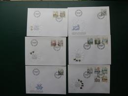 BOX SUISSE/LOT15  6 FDC  SUISSE  SIGNES ZODIAQUE - Astrology