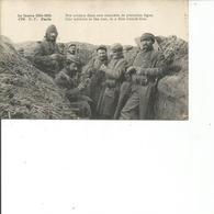 NOS SOLDATS DANS UNE TRANCHEE DE PREMIERE LIGNE - Personnages