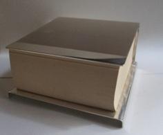 Blocco Note Da Scrivania In Lamina D'argento - Silverware