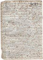 VP14.163 - Napoléon - Acte De 1811 - Jugement Des Négociants De GENEVE Contre LAVANCHY Pharmacien à TANINGES - Manuscripts