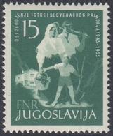 Yugoslavia 1953 - Liberation Of Istria - Mi 733 ** MNH - 1945-1992 Repubblica Socialista Federale Di Jugoslavia
