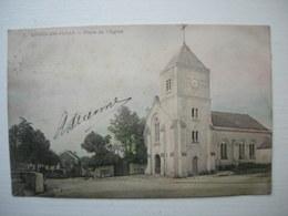 CPA Colorisée  Loges En Josas. Place De L'église - Other Municipalities