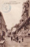 D46  ROCAMADOUR  Rue De La Couronnerie- Le Bas Du Grand Escalier  ..... - Rocamadour