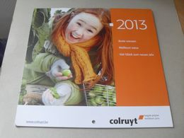 Calendrier Colruyt 2013 - Calendriers