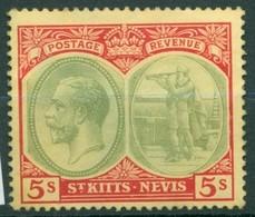 St Christophe - St Kitts - 1921/1929 - Yt 72 - George V - ** - St.Christopher-Nevis-Anguilla (...-1980)