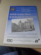 Publicité Wallonie Incourt Jodogne Beauvechain Grez Doiceau 2006 - Non Classés