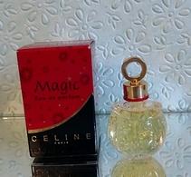 """Miniature """"MAGIC""""  De CÉLINE Eau De Parfum 5 Ml Dans Sa Boîte (M76-3) - Miniatures Modernes (à Partir De 1961)"""
