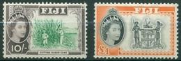 Fidji - 1961/1967 - Yt 168/169 - Série Courante - * Charnière - Fiji (...-1970)