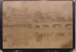PAU / CHATEAU D HENRI IV / PHOTO COLLEE SUR CARTON - FIN XIXe DEBUT XXe Siècle / - Anciennes (Av. 1900)