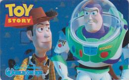 Telecarte Japon / 110-016 - DISNEY ON ICE - TOY STORY - Space 1 - JAPAN Movie Phonecard - Disney