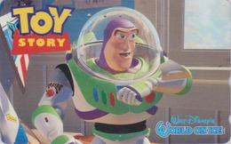 Telecarte Japon / 110-016 - DISNEY ON ICE - TOY STORY - Space 2 - JAPAN Movie Phonecard - Disney