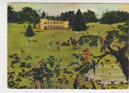 26599 Le Guerno Parc Zoologique Branfere - 1 Monachrome -dessin -attention état Mauvais ! Zoo - France