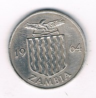 6 PENCE 1964  ZAMBIA /0232/ - Zambie