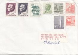 Brief JUGOSLAWIEN 198? Mit 8 Fach Frankierung - 1945-1992 Sozialistische Föderative Republik Jugoslawien