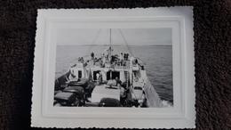 PHOTO BAC AUTOMOBILE AUTO  FORMAT 10.5 PAR 8 CM - Barche