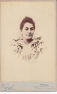 ORAN  1894 / TRES BELLE PHOTO PROFESSEUR D ECOLE NORMALE / PHOTO COLLEE SUR CARTON - FIN XIXe DEBUT XXe Siècle / - Anciennes (Av. 1900)