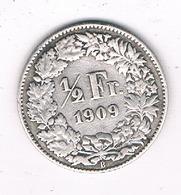 1/2 FRANC 1909 B ZWITSERLAND /0234/ - Suisse