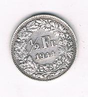 1/2 FRANC 1944 B ZWITSERLAND /0235/ - Suisse