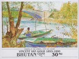 Bhutan 1991 Vincent Van Gogh  S/S - Bhutan