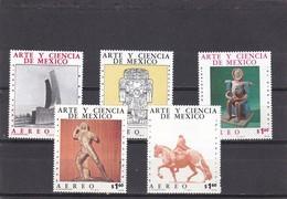 Mexico Nº A414 Al A418 - México