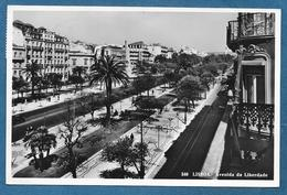 LISBOA AVENIDA DA LIBERDADE PICOAS 1952 STAMP 1.40 MUSEU NACIONAL DOS COCHES - Lisboa