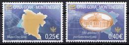 Montenegro 2005, Definitive Set SECOND PRINT MNH - Montenegro