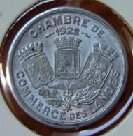 Landes ( 40  Landes )  10 Centimes  Chambre De Commerce 1922 - Monetary / Of Necessity