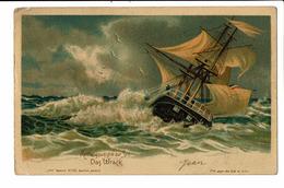 CPA - Carte Postale -Belgique --Rettungswegen Zur Zee -1901 S4850 - Belgique