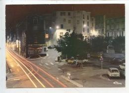 Annonay : Place Place De La Liberté Vue De Nuit (cp Vierge N° 0089 Combier) - Annonay