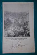 Cartolina Guardiaregia - Uscita Della Processione Di S. Nicola Il 9 Maggio. Viaggiata 1904 - Campobasso