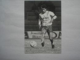 Photo FOOTBALL Signé Par  BERNARD PORDO  Toulon - Photography
