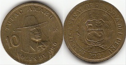 Perù 10 Soles 1981 Republic KM#272.2 - Used - Perú