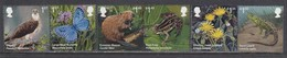 Great Britain 2018 - Faune Et Flore, Set Of 6 Stamps, MNH** - 1952-.... (Elizabeth II)