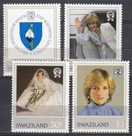 Swaziland - 1982 - Princess Diana 21st Birthday - Swaziland (1968-...)