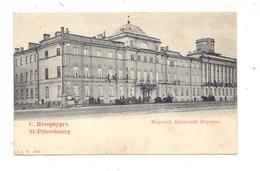 RU 190000 SANKT PETERSBURG, Palais, Ca. 1900 - Russland