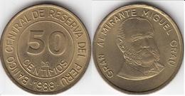 Perù 50 Centimos 1988 KM#295 - Used - Perú