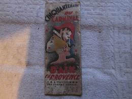 Cinquantenaire Du Carnaval D'aix En Provence - Histoire