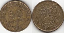 Perù 50 Soles 1980 Republic KM#273  - Used - Pérou