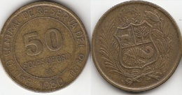 Perù 50 Soles 1980 Republic KM#273  - Used - Perú