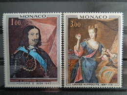 MONACO 1969 Y&T N° 797 & 798 ** - PRINCE ET PRINCESSE DE MONACO - Monaco