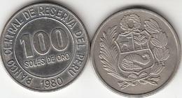 Perù 100 Soles 1980 Republic KM#283 - Used - Perú