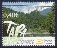 Montenegro 2006 European Nature Protection, Tara, Bridges, Architecture, MNH - Montenegro