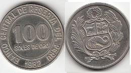 Perù 100 Soles 1982 Republic KM#283 - Used - Perú