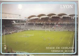 Stade  De LYON  Version Rugby - Rugby